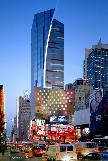 westin hotel_Westin New York at Times Square - Arquitectonica Architecture