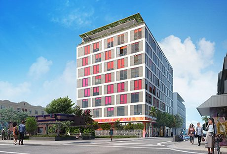 Projects arquitectonica architecture for Cube suites istanbul