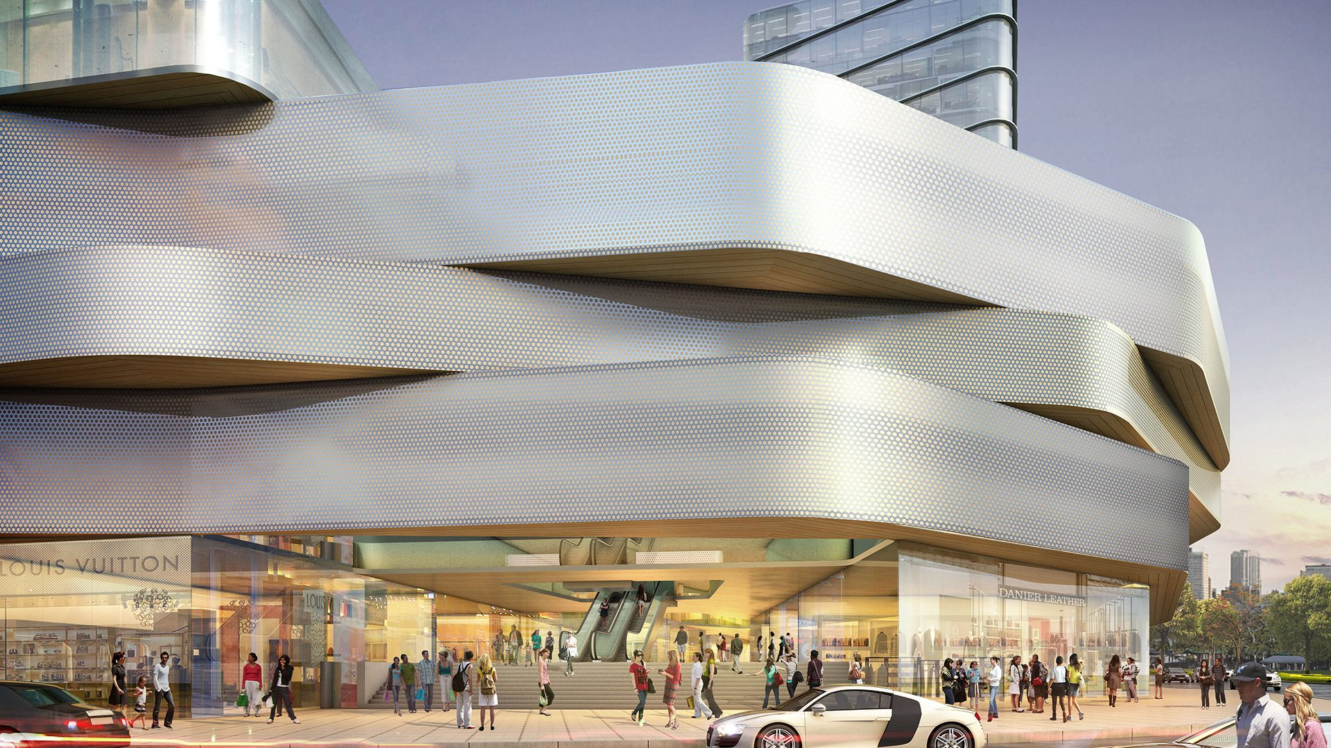 Camino Real Shopping Center - Arquitectonica Architecture