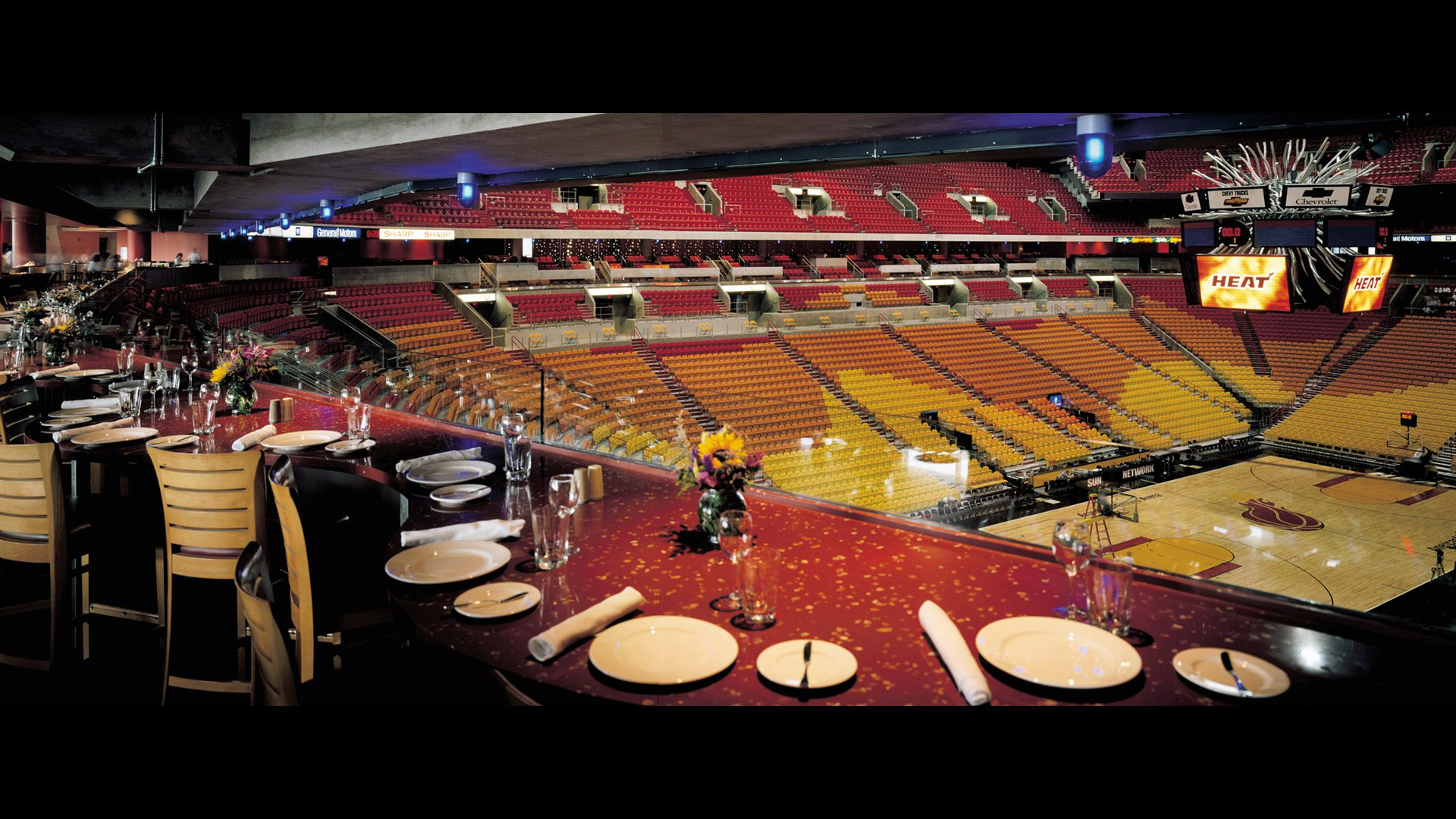 American Airlines Arena Interior Design