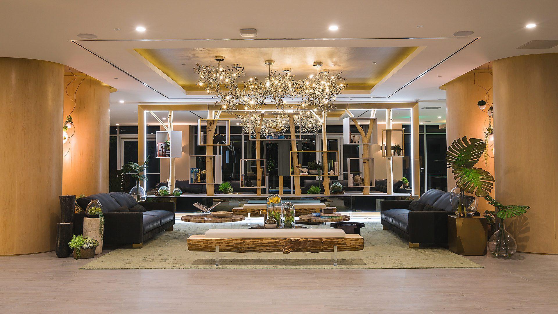 . Aria on the Bay   Interior Design